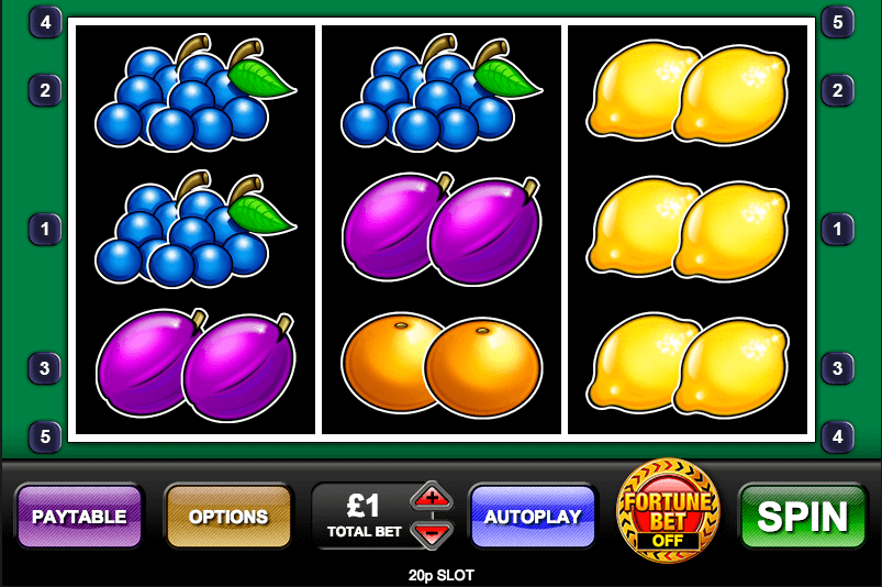 20p Slot S Gameplay