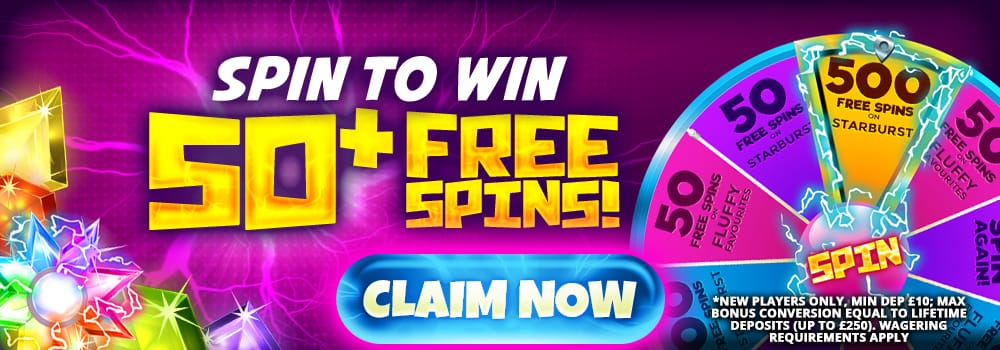Daisy slots - 50freespins offer