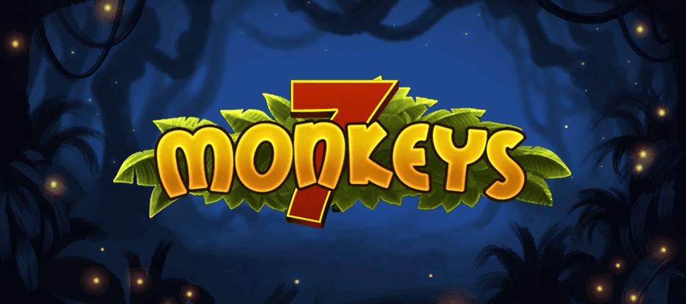 7 Monkeys Slot Banner