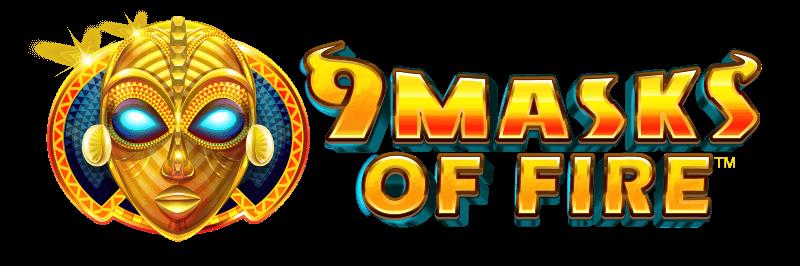 9 Masks of Fire Slot Banner