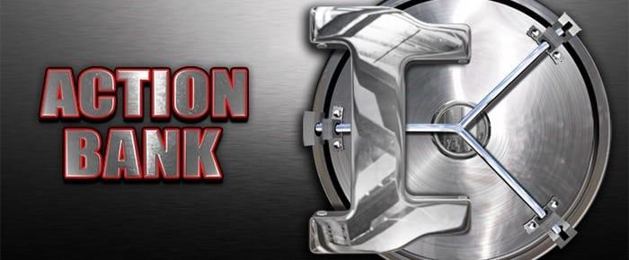 Action Bank online slot logo