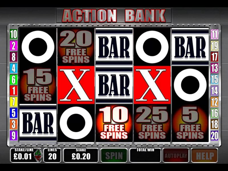 Action Bank - Online Slot Bonuses