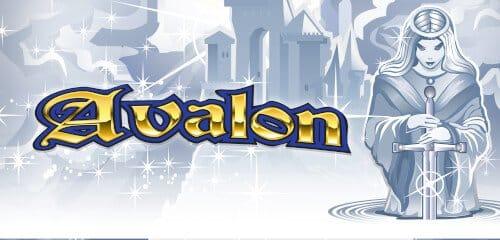 Avalon Slot Logo