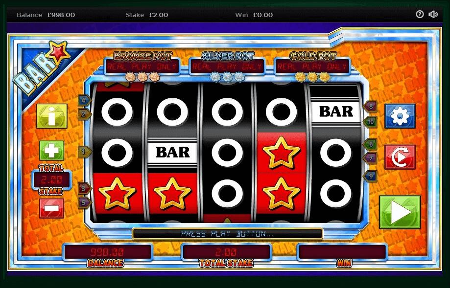 Bar Star Slot Bonus