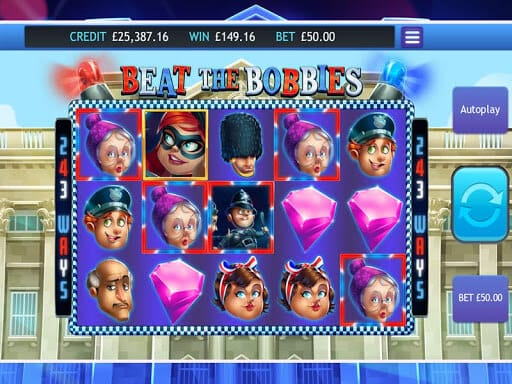 Beat the Bobbies Slot Bonus