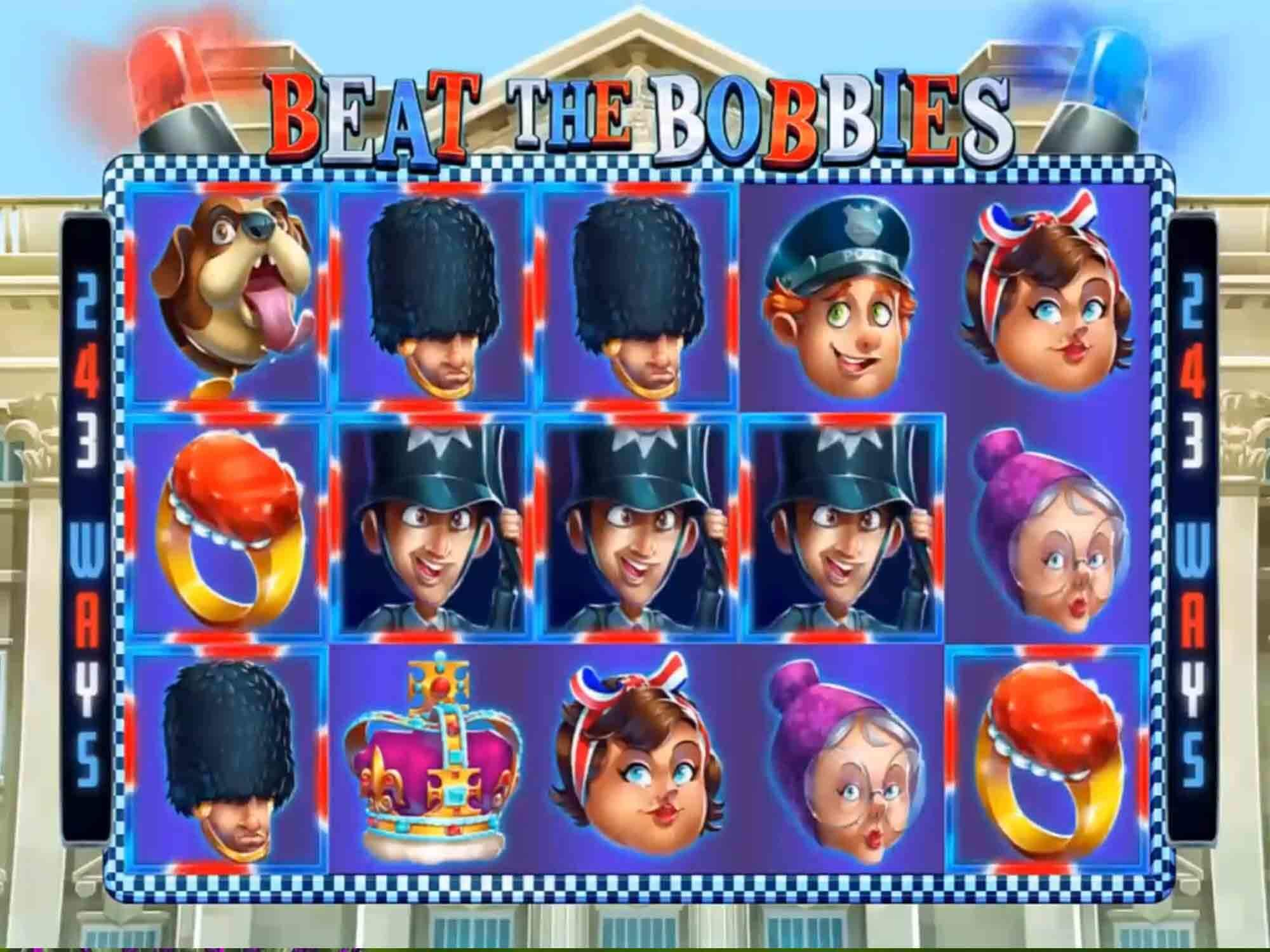 Beat the Bobbies Slot Gameplay