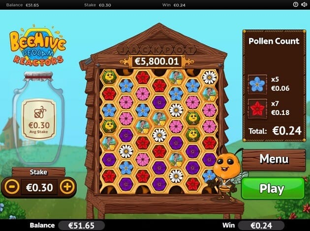 Beehive Bedlam Slot Gameplay