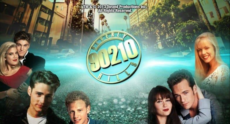 Beverly Hills 90210 Slot Banner