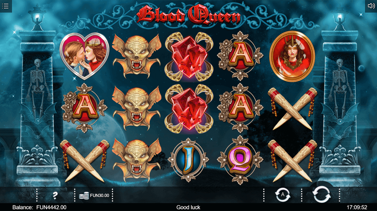 Blood Queen Slot Bonus