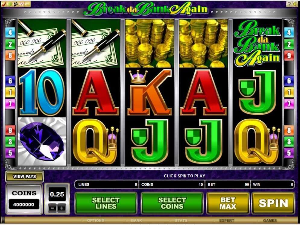 Break da Bank Again Slot Bonus
