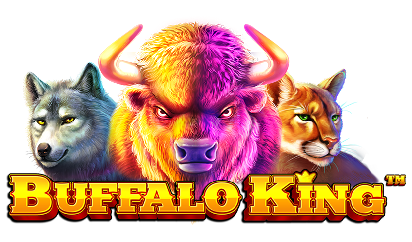 Buffalo King Slot Logo Daisy Slots
