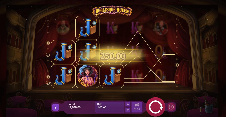 Burlesque Queen Slot Bonus