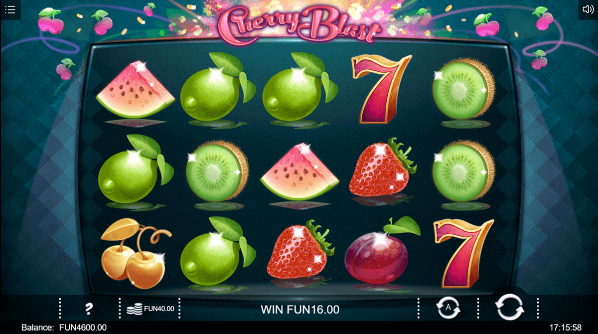 Cherry Blast Slot Gameplay