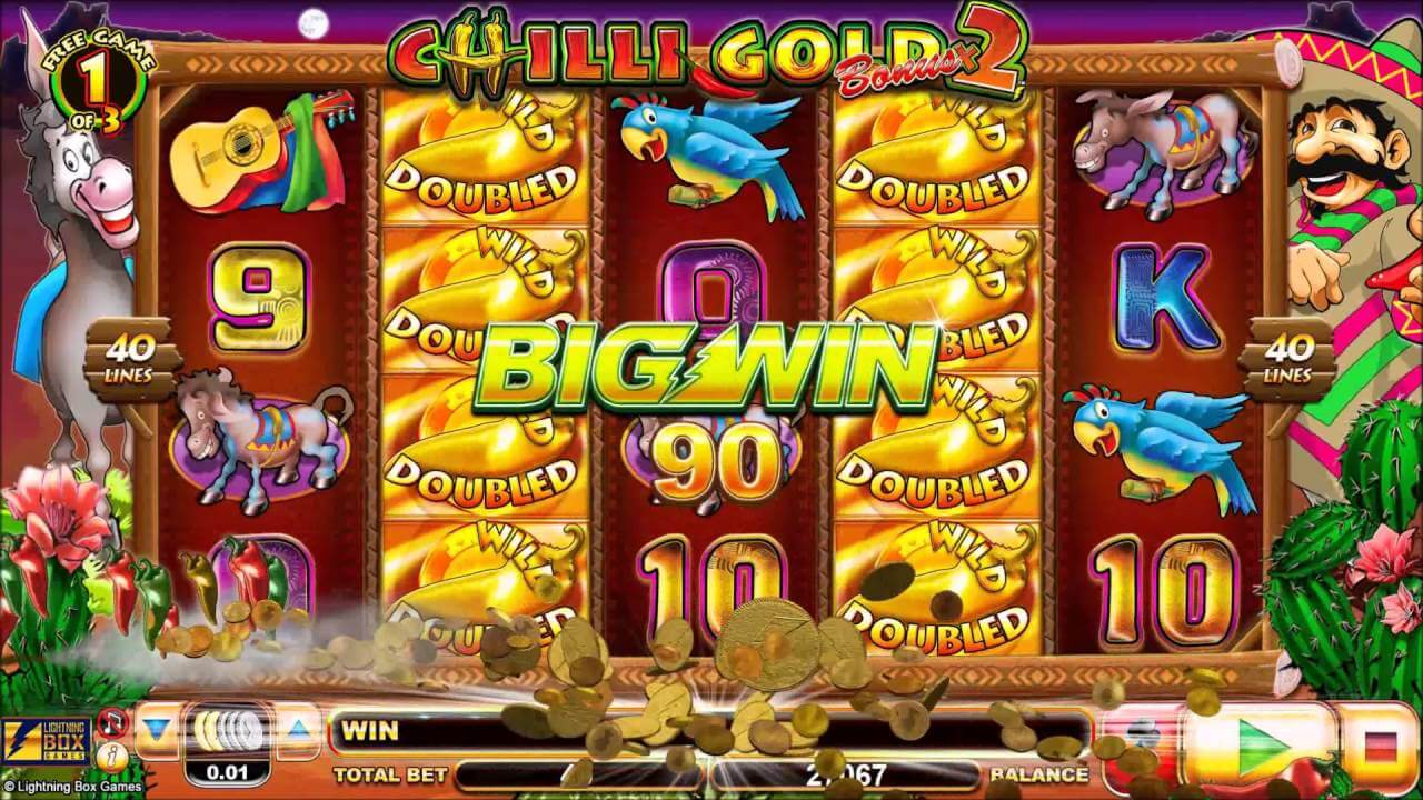 Chilli Gold X2 Slot Bonus
