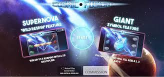 Cosmic Fusion Slot Bonus