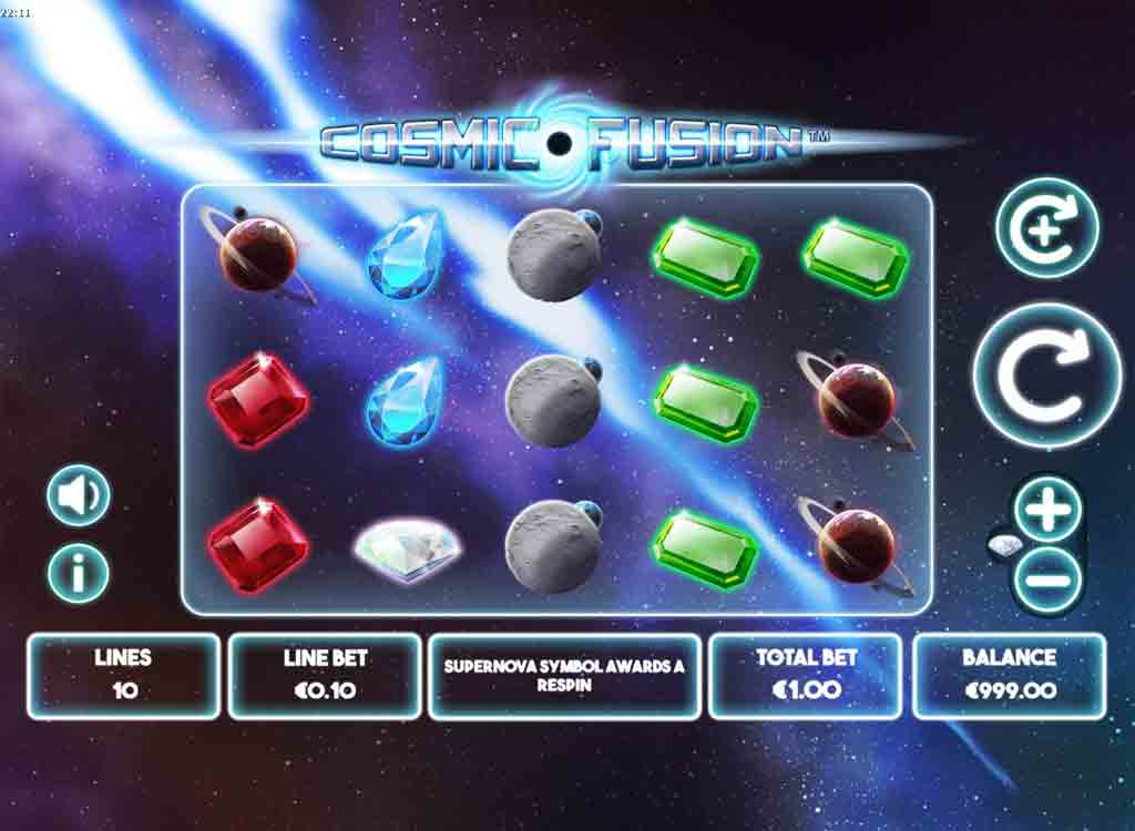 Cosmic Fusion Slot Gameplay