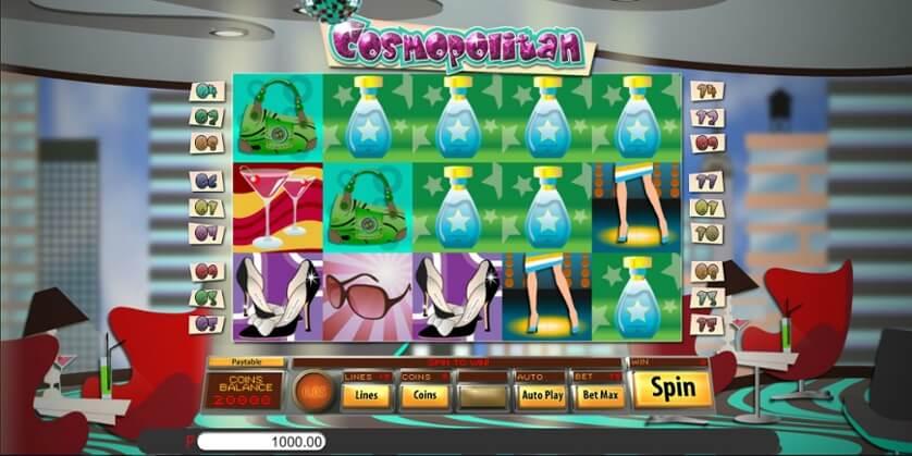 Cosmopolitan Slot Bonus