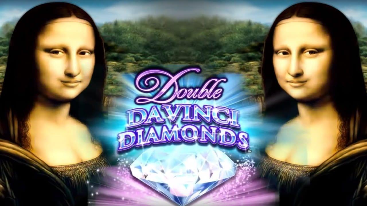 Doule Da Vinci Diamonds Slot Logo