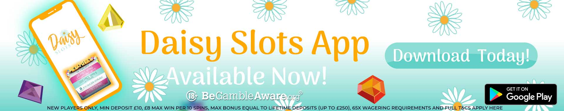 Daisy Mobile Slots App