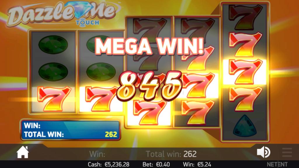 Dazzle Me Slot Bonus