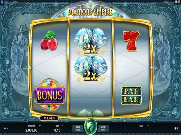 Diamond Empire Slot Gameplay