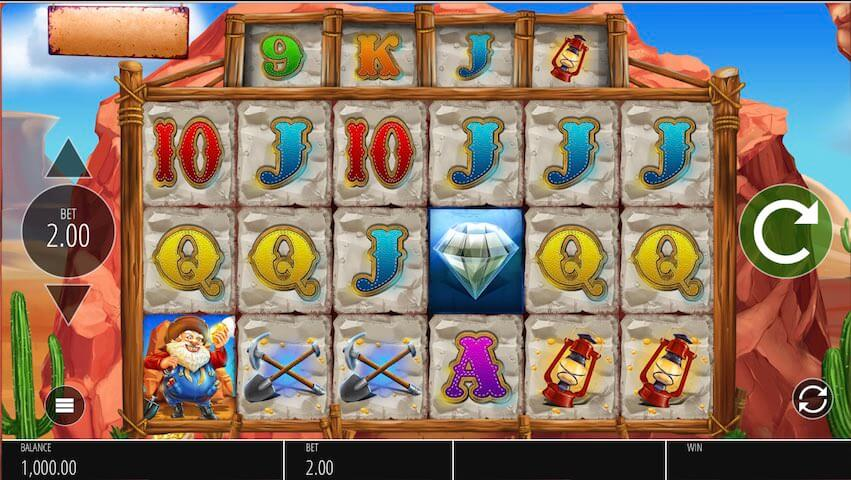 Diamond Mine Slot Bonus