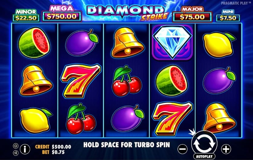 Diamond Strike Slots Gameplay