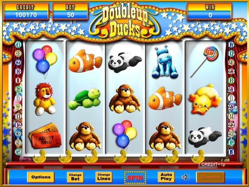 Doubleup Ducks Jackpot Slot Gameplay