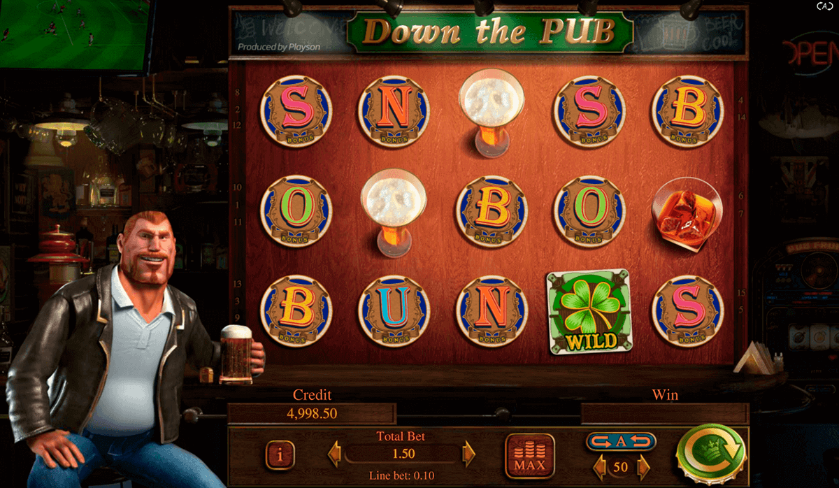 Down the Pub Slot Gameplay