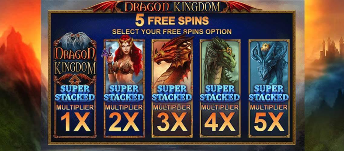 Dragon Kingdom Slot Bonus
