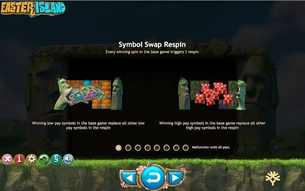 Easter Island Slot Bonus - Yggdrasil