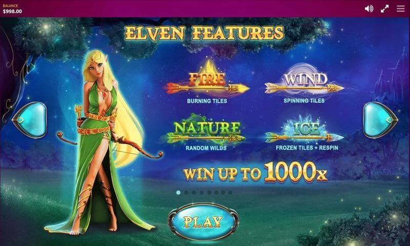 Elven Magic Slot Bonus