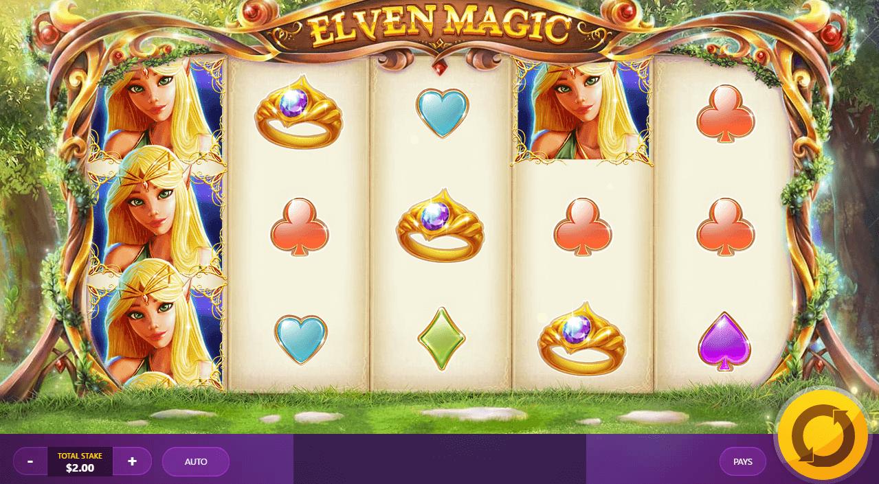 Elven Magic Slot Gameplay