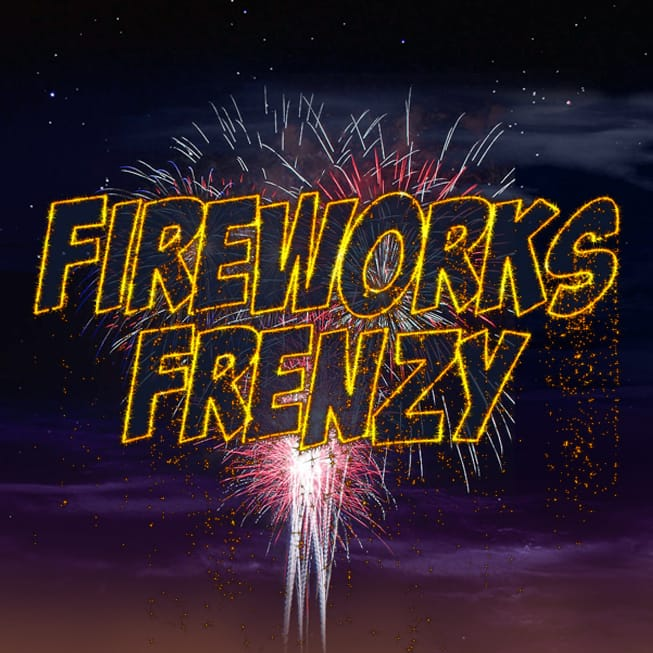 Fireworks Frenzy Online Slot Logo