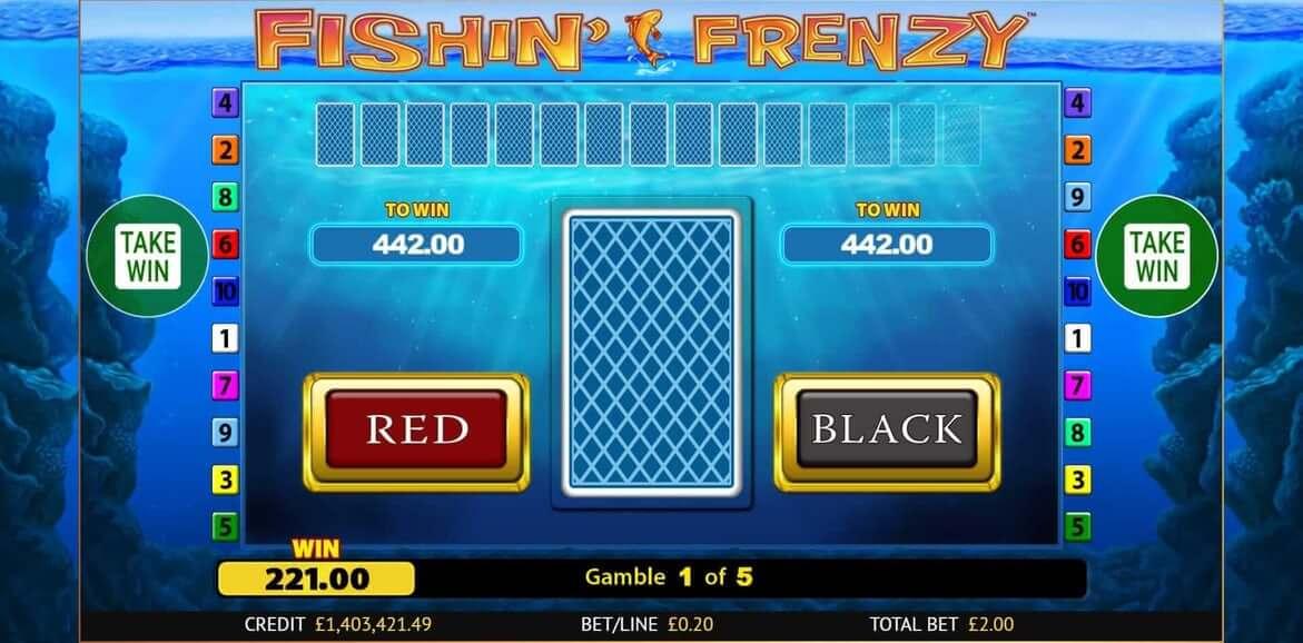 Fishin Frenzy Scratchcard Bonus