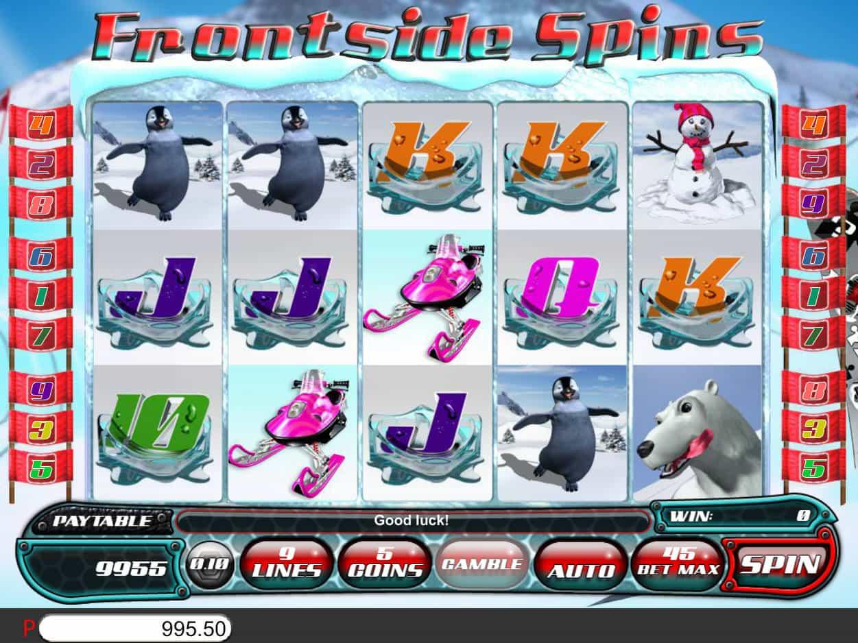 Frontside Spins Slot Gameplay