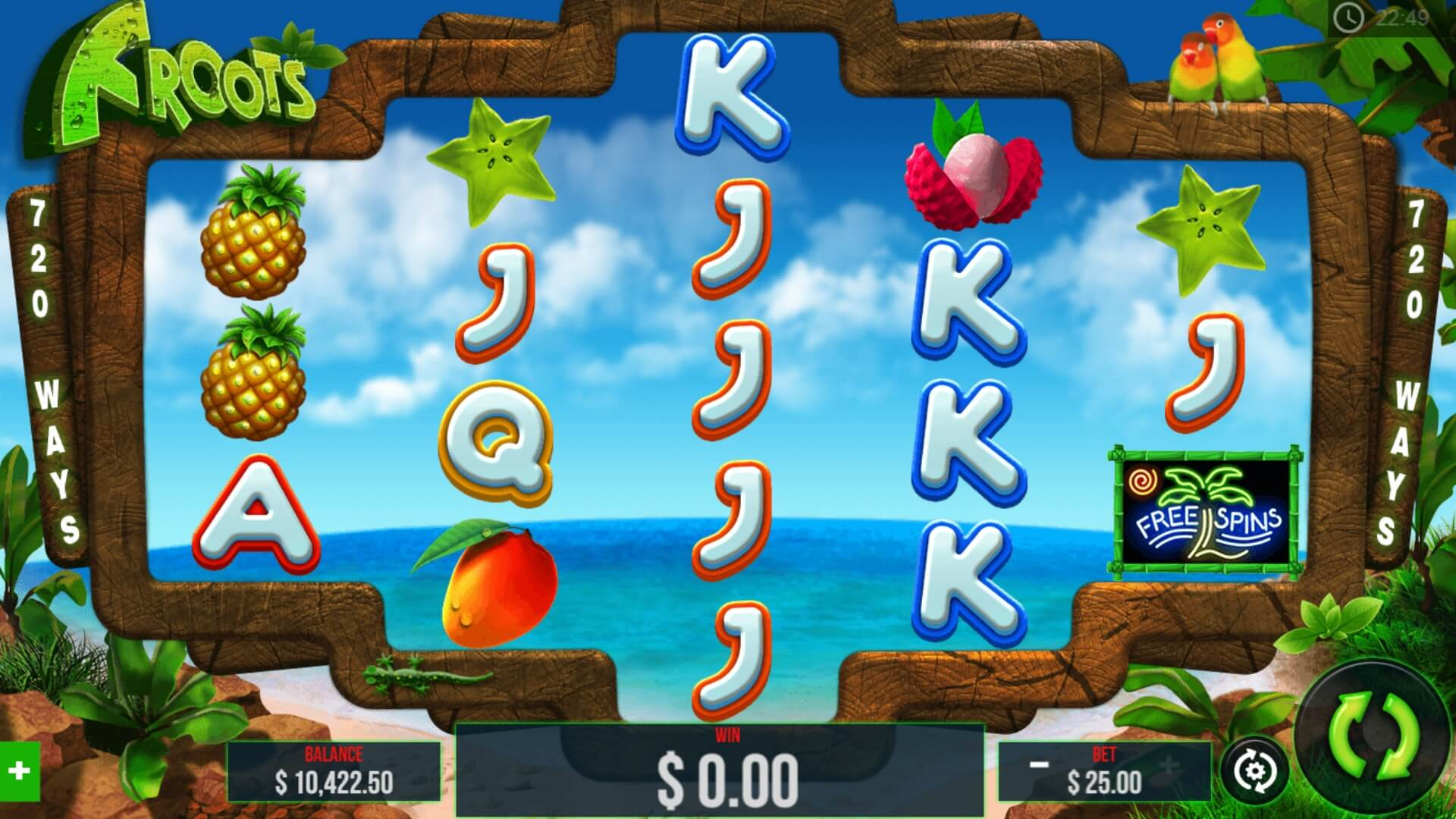 Froots Slot Gameplay