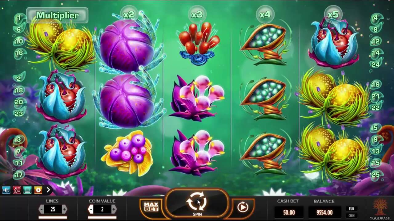 Fruitoids Slot Gameplay