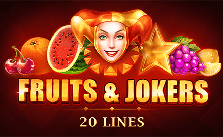 Fruits and Jokers 20 Lines Review