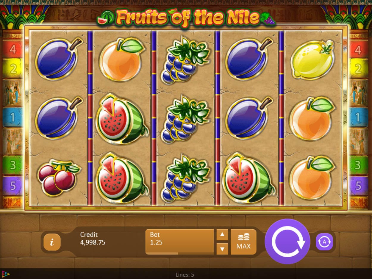 Fruits of the Nile Slot Bonus
