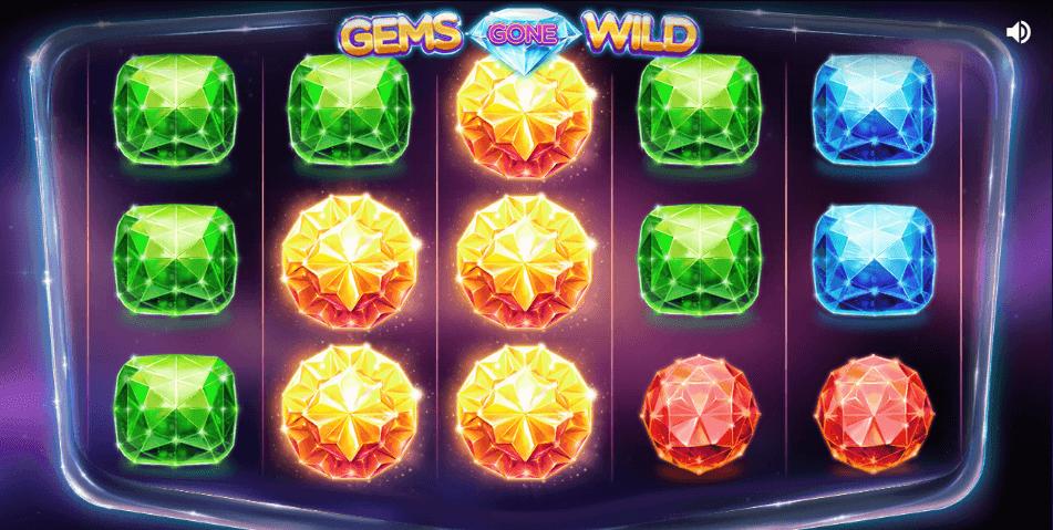 Gems Gone Wild Slot Gameplay