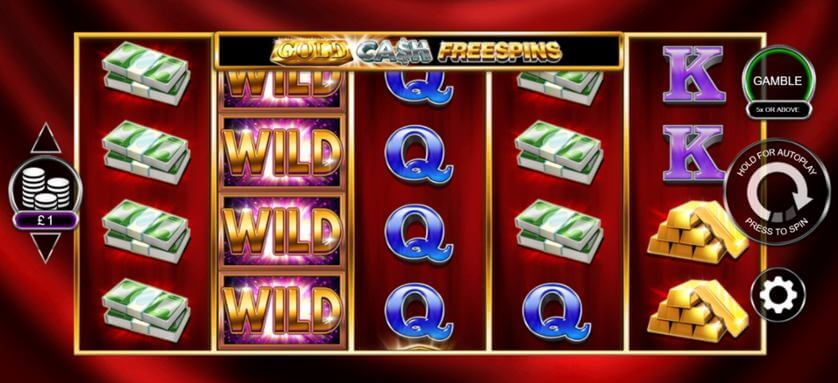Gold Cash Slot Gameplay
