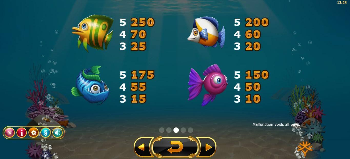 Golden Fish Tank Slot Bonus