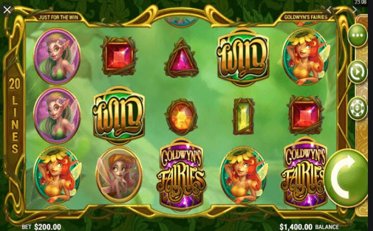 Goldwyns Fairies Slot Gameplay