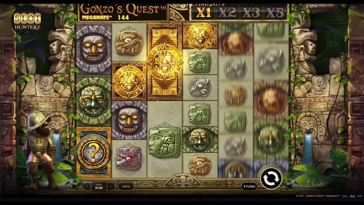 Gonzo's Quest Megaways Bonus