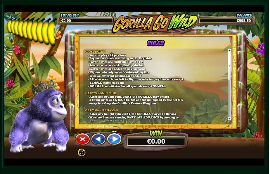 Online Casino Game Go Wild