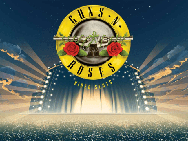Guns N Roses Video Slot Logo