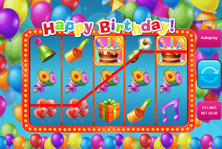 Happy Birthday Slot Bonus