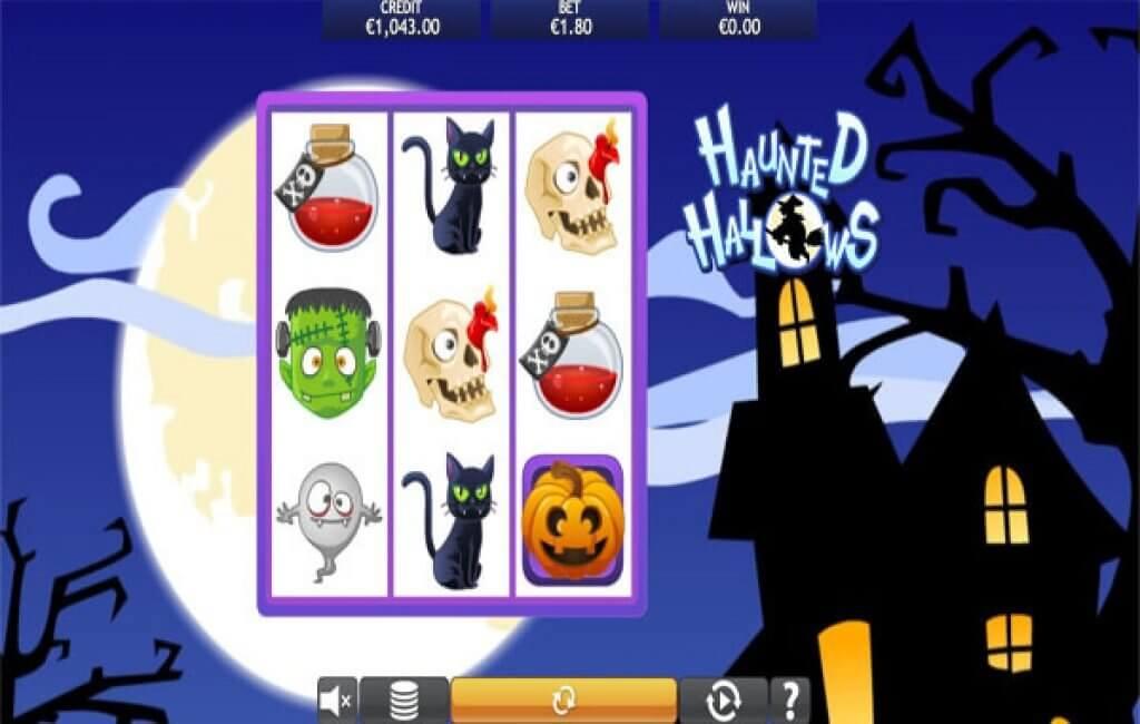Haunted Hallows Slot Bonus