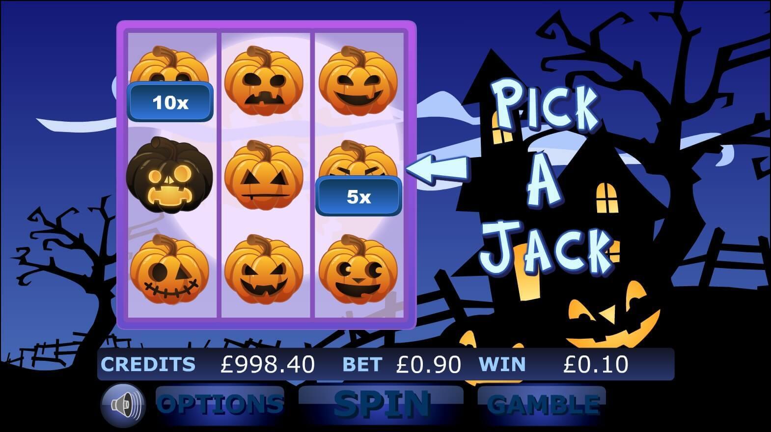 Haunted Hallows Slot Gameplay